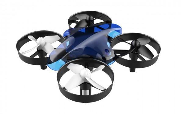 ALLNET Mini Dron con mando a distancia (Azul)