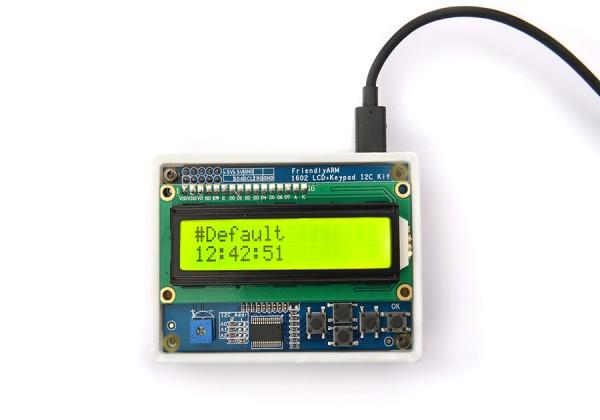 FriendlyELEC LCD1602 Keypad - I2C interface, User Keys