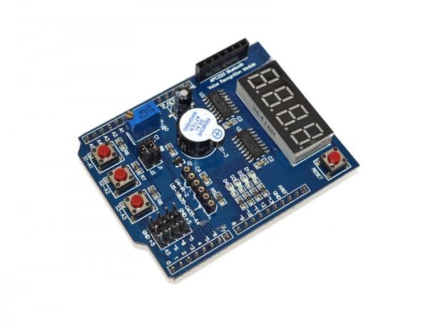 4duino Sheeld multifunción para Arduino Uno