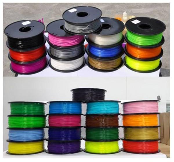 Synergy 21 Filamento 3D PLA 3mm, negro