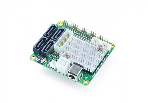 FriendlyELEC SATA HAT para NanoPi M4 x4