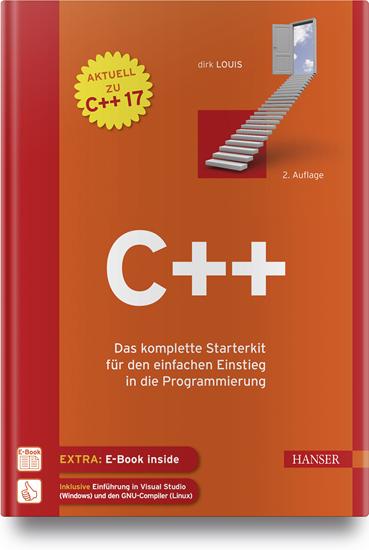 """C++"" Hanser Verlag Buch - 490 Seiten inkl. E-Book"