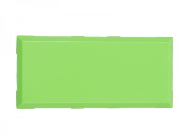 ALLNET Brick'R'knowledge Carcasa verde 2x1 Pack de 10uds