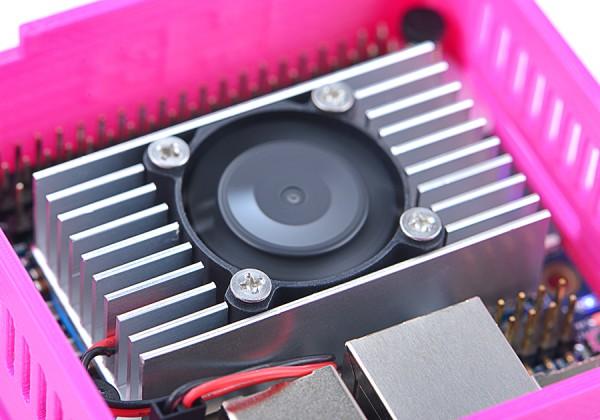 FriendlyELEC Set refrigeración + ventilador