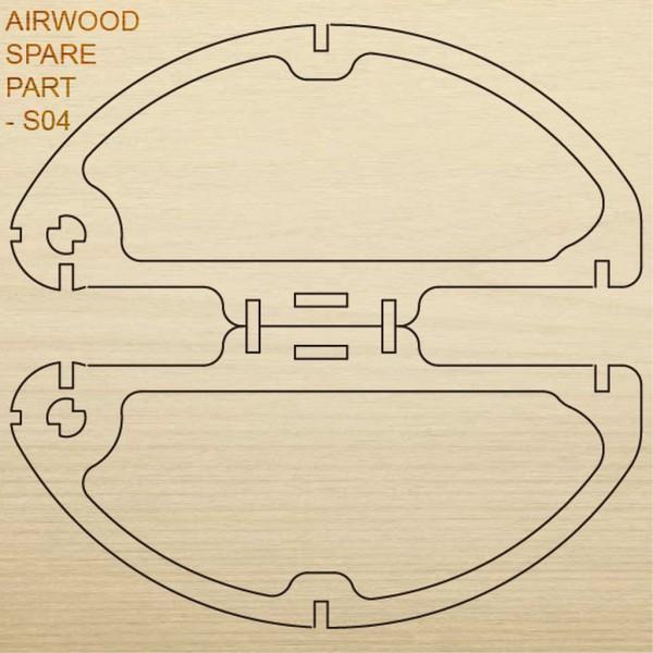 Airwood W20404 Recambio de madera S04