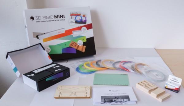 3Dsimo Big Creative Box incl. Bolígrafo 3Dsimo Mini 2