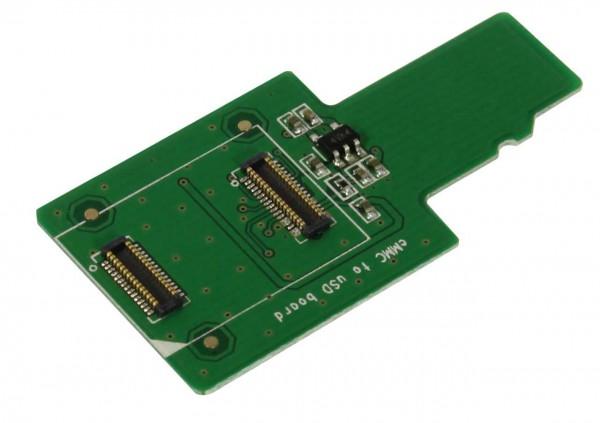 Rock Pi 4 Adaptador eMMC a uSD