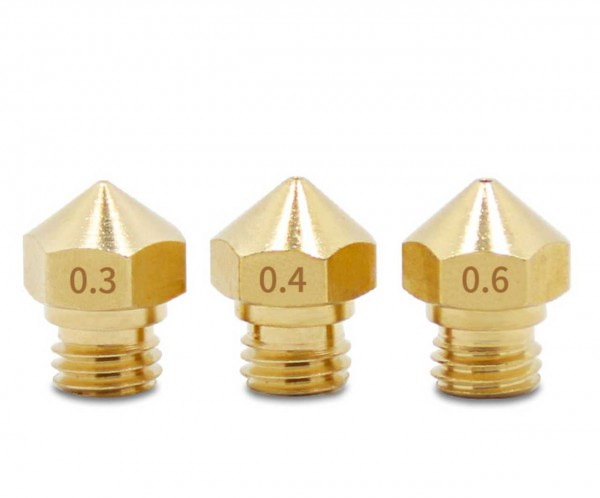 Nozzles M6 para Snapmaker, Anycubic, etc