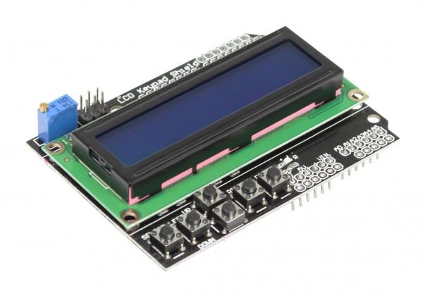 4duino Módulo con Display LCD1602 con teclas