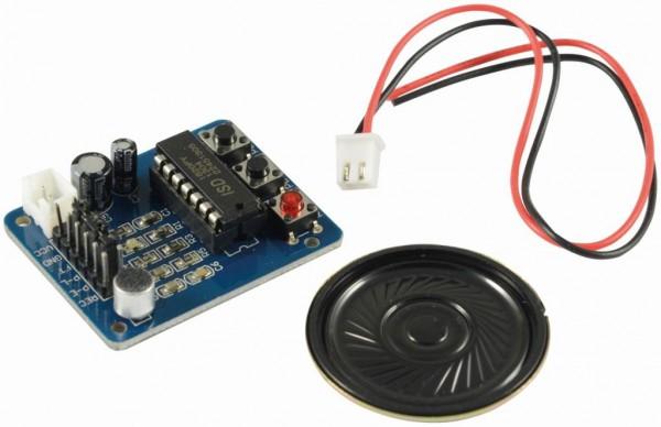 4duino Módulo para grabacion de voz con micrófono/altavoz