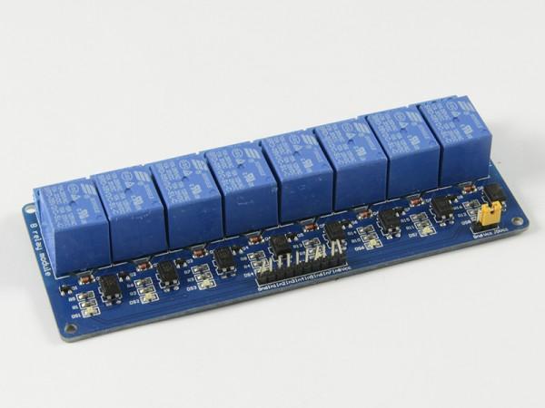 4duino Módulo de 8 relés con optoacoplador