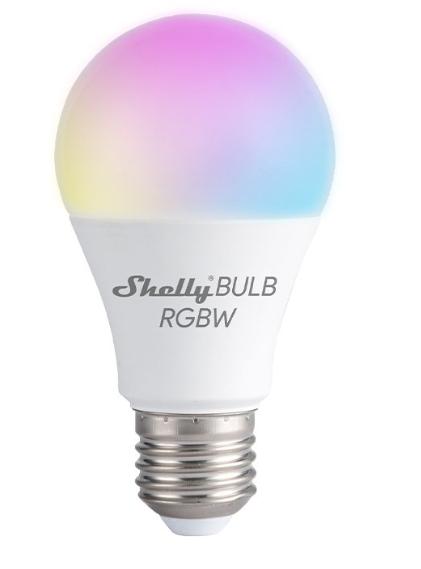 Shelly Bombilla Duo RGBW