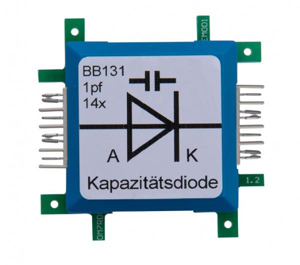 ALLNET Brick'R'knowledge Diodo de Capacitancia BB131 1pF 14x
