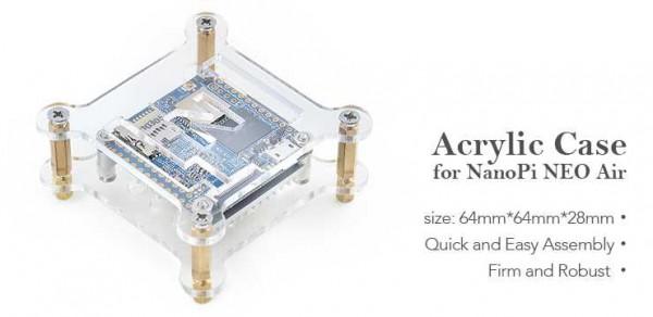 FriendlyELEC Carcasa acrílica para NanoPi Neo Air