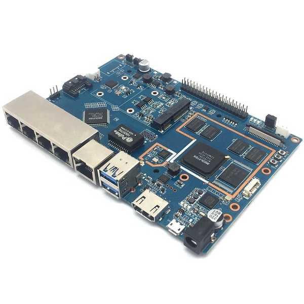 Banana Pi BPi-R2 Router Board