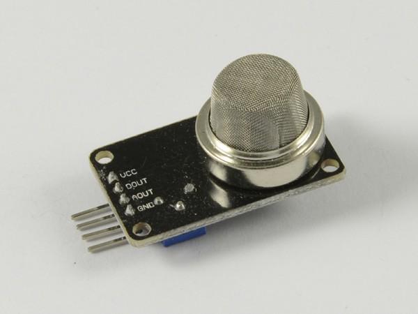 4duino Detector de gas metano MQ-2