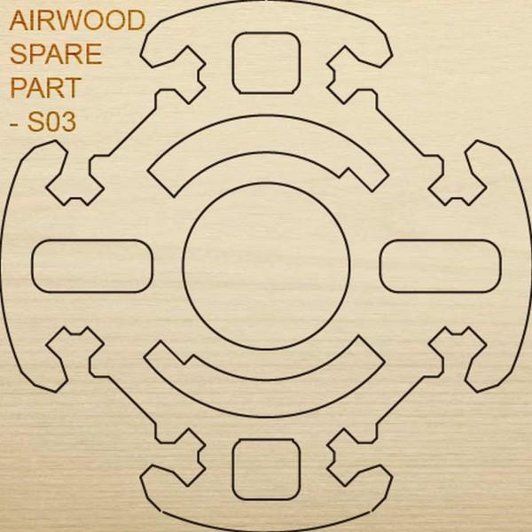 Airwood W20403 Recambio de madera S03