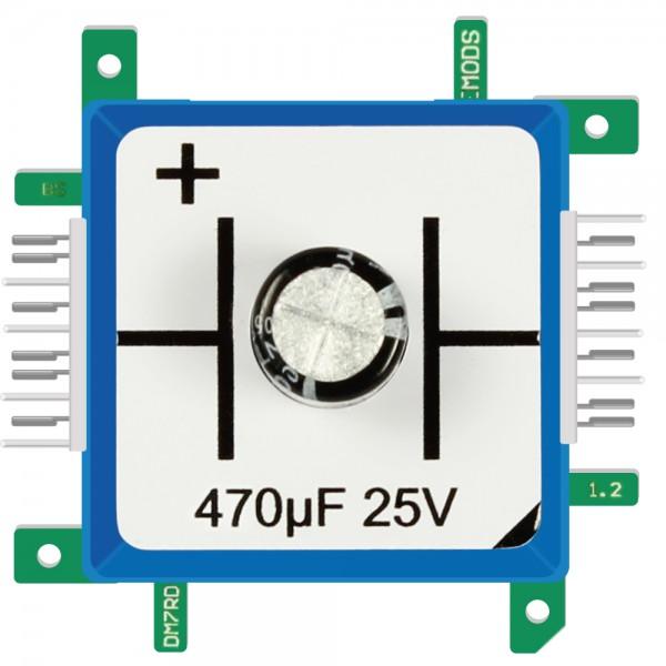 Brick'R'knowledge Condensador 470µF 25V