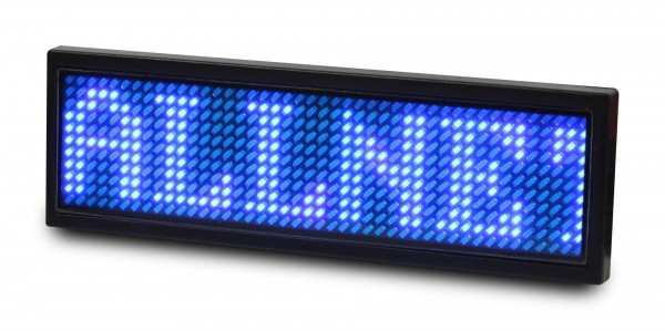 ALLNET Display Identificativo programable, Azul