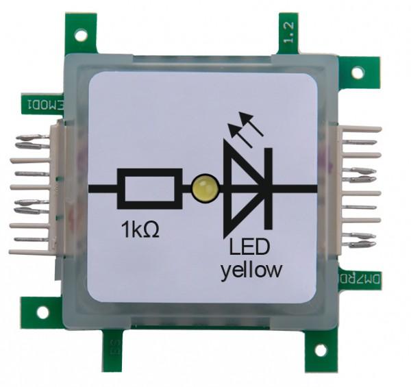 Brick'R'knowledge LED amarillo