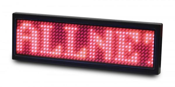ALLNET Display Identificativo programable, Rojo