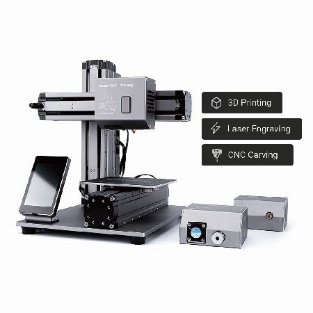 Snapmaker Impresora 3D 3en1, Incluye carcasa