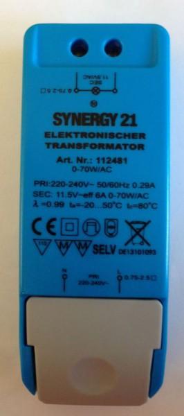 Synergy 21 Transformador regulable 12V/70W