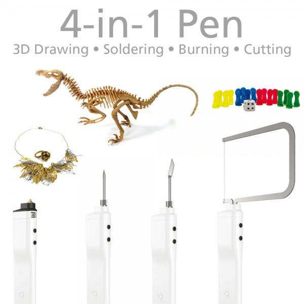 3Dsimo mini 2 Box - 3D dibujar, soldar, quemar & cortar