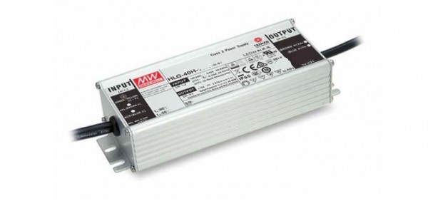 Mean Well HLG-40H-24B Alimentación 24V/40W IP65 Regulable