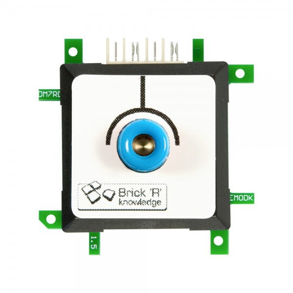 Brick'R'knowledge Adap. de medida 4mm Endpoint Azul