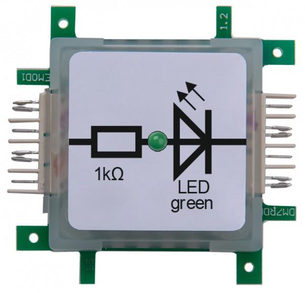Brick'R'knowledge LED verde