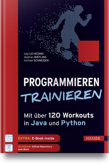 """""""Programmieren trainieren"""" Hanser Verlag Buch - 576 Seiten inkl. E-Book"""