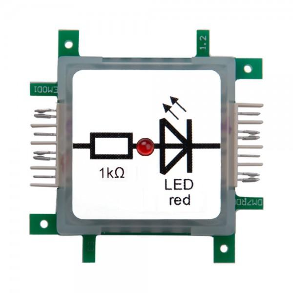 Brick'R'knowledge LED rojo
