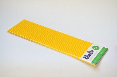 """3Doodler Filamento Create+ PLA """"Rubber Ducky Yellow"""" 24uds"""