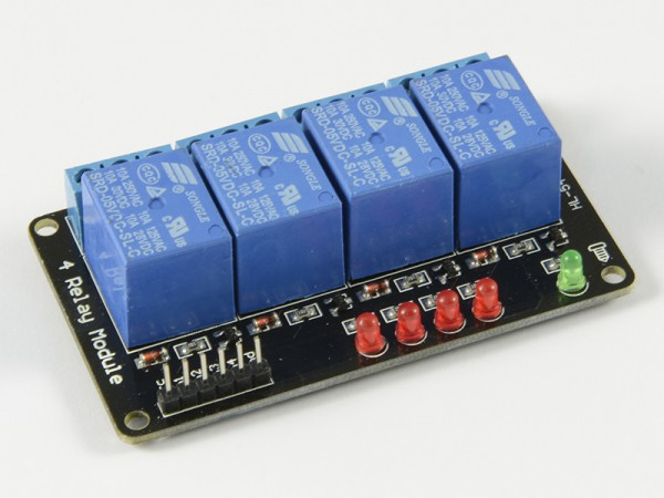 4duino Módulo de 4 relés 5V sin optoacoplador