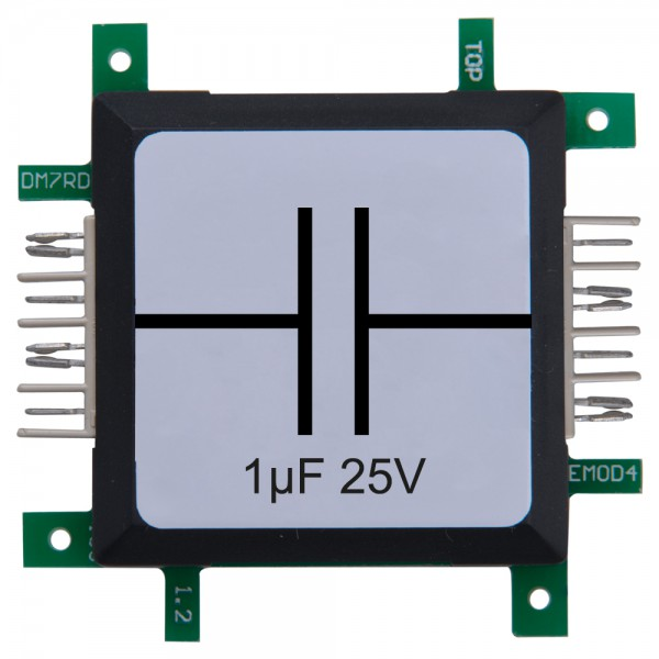 Brick'R'knowledge Condensador 1µF 25V