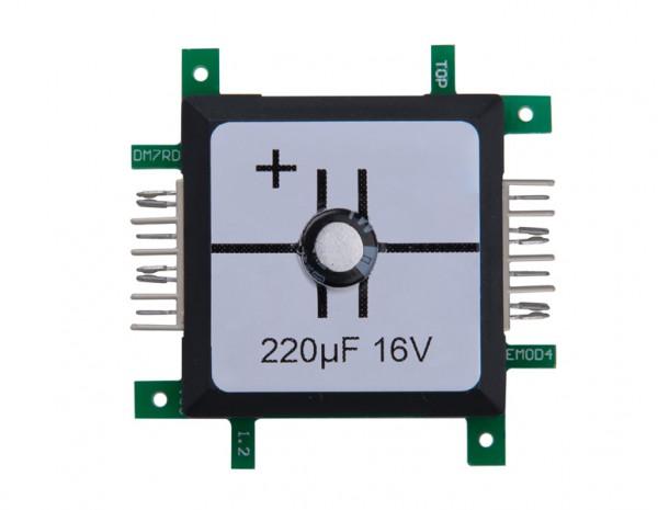 ALLNET Brick'R'knowledge Condensador 220µF elko 16V