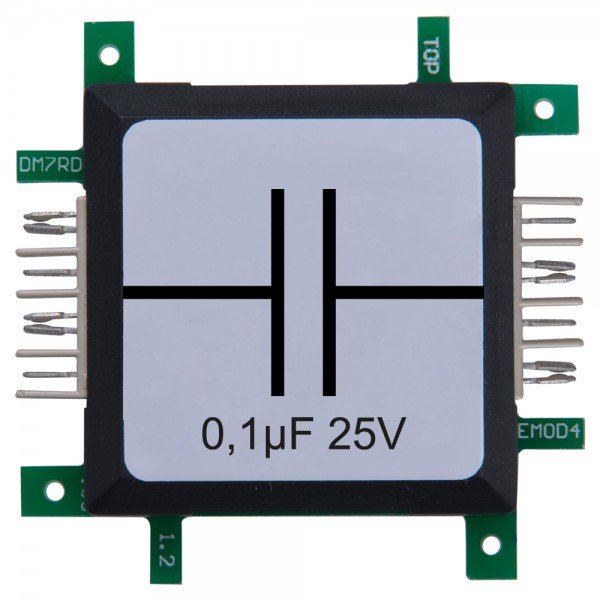 Brick'R'knowledge Condensador 0,1µF 25V