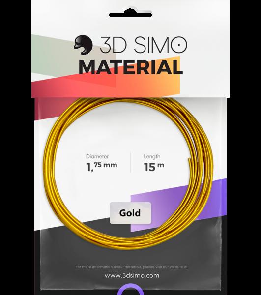3Dsimo Filamento simil oro