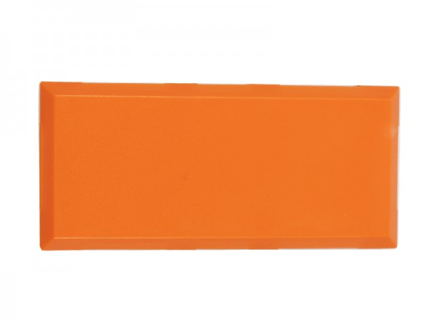 ALLNET Brick'R'knowledge Carcasa naranja 2x1 Pack de 10uds