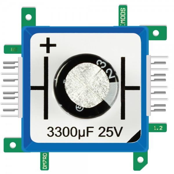 Brick'R'knowledge Condensador 3300µF 25V