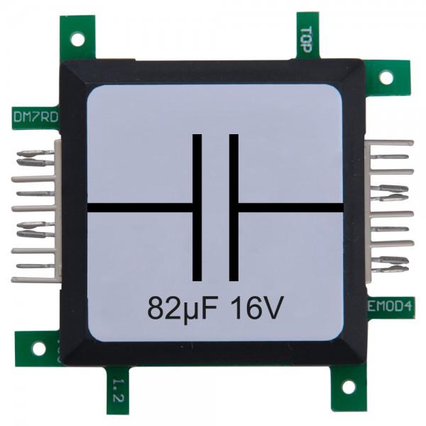 Brick'R'knowledge Condensador 82µF 16V
