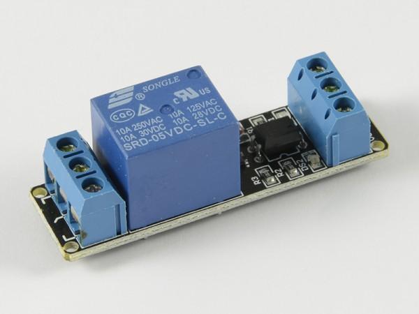4duino Módulo de 1 relé con optoacoplador