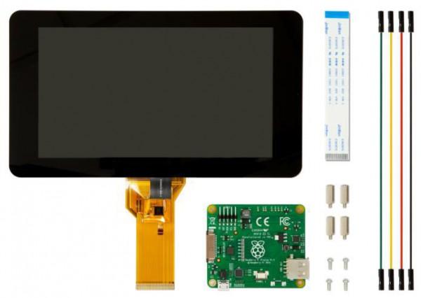 Raspberry Pi Pantalla táctil 7 LCD