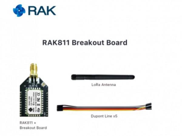 RAK Wireless 811 Breakout Board