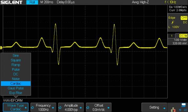 Siglent SDS-2000X-FG / 25MHz Funktions - /Arbiträr - Signalgenerator Software Option