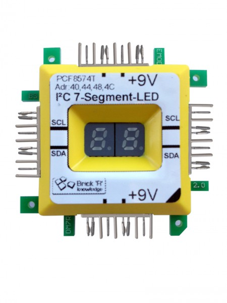 ALLNET Brick'R'knowledge Display LED 7 Segmentos
