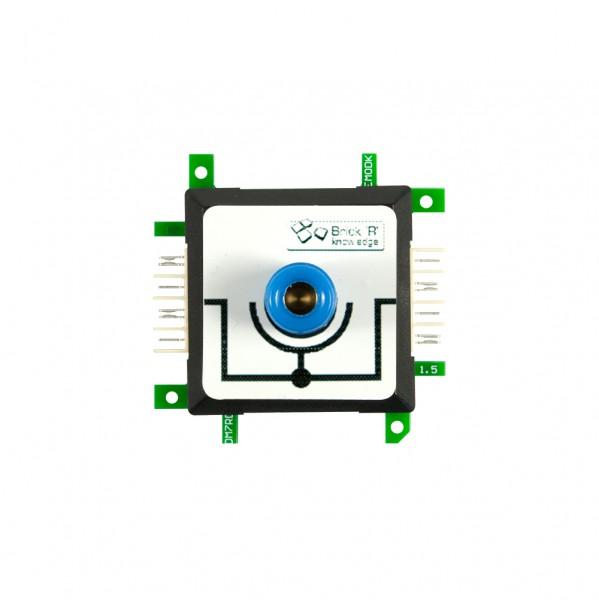 Brick'R'knowledge Adap. de medida 4mm Inline Azul