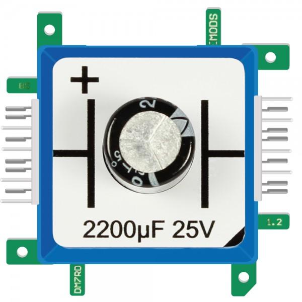 Brick'R'knowledge Condensador 2200µF 25V