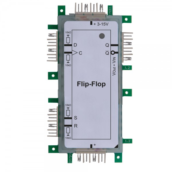 Brick'R'knowledge Lógico D Flip-Flop 2x1